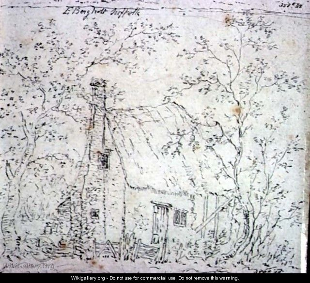 Cottage at East Bergholt - John Constable