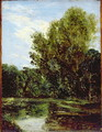 Corner of Hampstead Ponds - John Constable