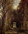 The Cenotaph to Reynold's Memory, Coleorton, c.1833 - John Constable