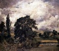 Water Meadows Near Salisbury - John Constable