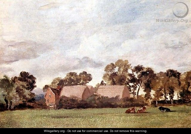 A Suffolk Landscape - John Constable