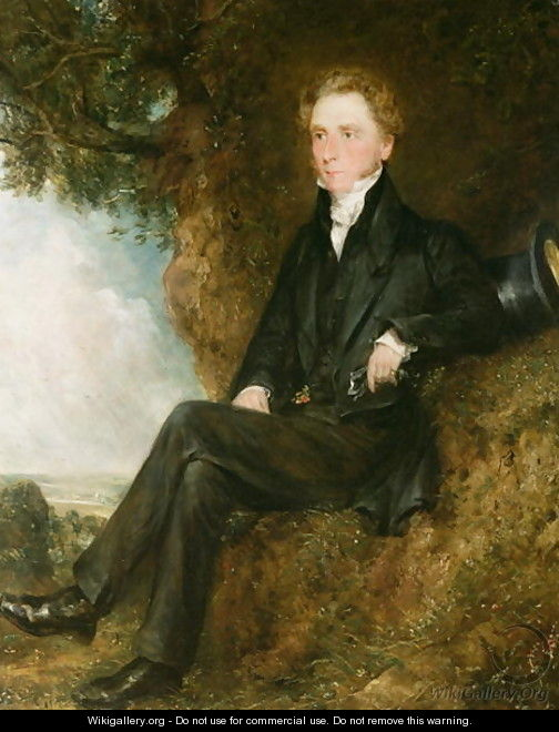 Portrait of Dr Thomas Simcox Lea, c.1828 - John Constable