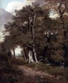 A Wooded Path - John Constable