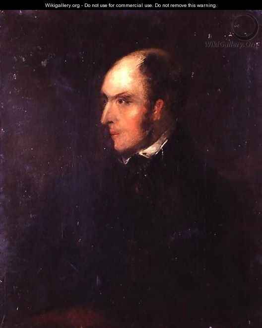 Portrait of a Balding Man - John Constable
