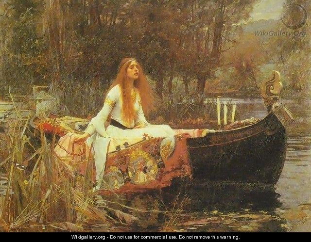 The Lady of Shalott 1888 - John William Waterhouse