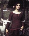 The Lady Clare 1900 - John William Waterhouse
