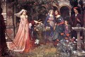 The Enchanted Garden 1916 - John William Waterhouse