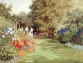 A Garden in July, c.1910 - Violet Common