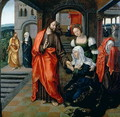 Christ taking Leave of his Mother - Jan van II Coninxloo