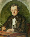 Portrait of Wilkie Collins (1824-89) 1853 - Charles Allston Collins