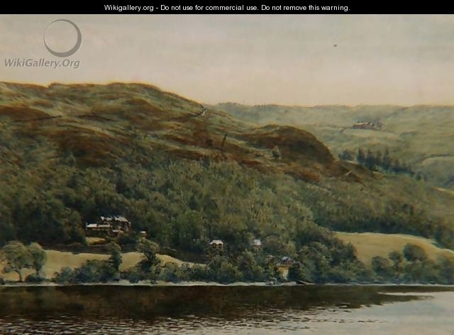 View of Brantwood 1881 - William Gersham Collingwood