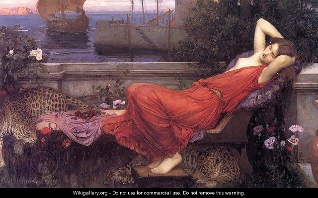 Ariadne 1898 - John William Waterhouse