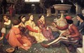 A Tale from the Decameron 1916 - John William Waterhouse