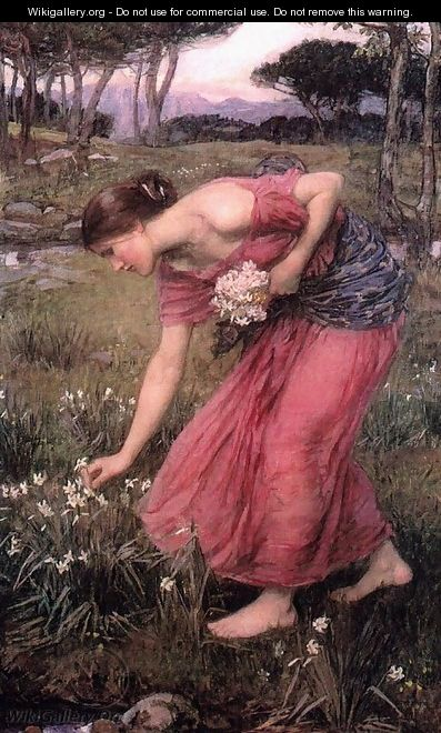 Narcissus 1912 - John William Waterhouse
