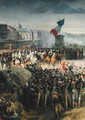 The Garde Nationale de Paris Leaves to Join the Army in September 1792 c.1833-36 (detail-2) - Léon Cogniet