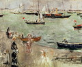 The Isle of Wight, 1875 - Berthe Morisot