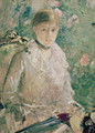 Portrait of a Young Lady - Berthe Morisot