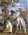 The Ladies Shooting Poney 1780 - John Collet