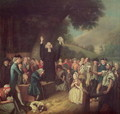 George Whitefield preaching - John Collet