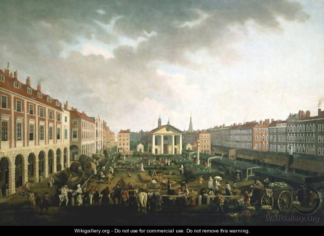 Covent Garden Piazza and Market - John Collet
