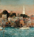 October Sundown, Newport, 1901 - Childe Hassam