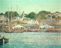 Gloucester Harbour, 1917 - Childe Hassam