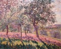 The Region of Saint Cheron, Springtime, c.1886 - Armand Guillaumin