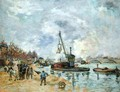 At the Quay de Bercy in Paris, 1874 - Armand Guillaumin