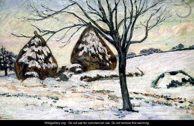 Winter Light - Armand Guillaumin