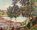 Landscape with a Lake - Armand Guillaumin