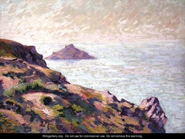 Coast of the Val Andre, c.1907 - Armand Guillaumin