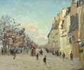 Paris, Quai de Bercy, Snow Effect, c.1873-74 - Armand Guillaumin