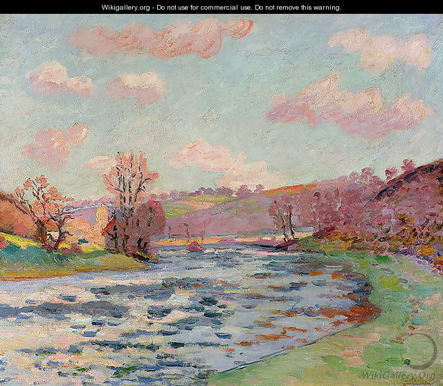 Banks of the Creuse, Limousin, c.1912 - Armand Guillaumin