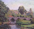 The Bridge at Boigneville, c.1894 - Armand Guillaumin