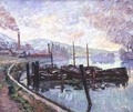 Coal Barges - Armand Guillaumin