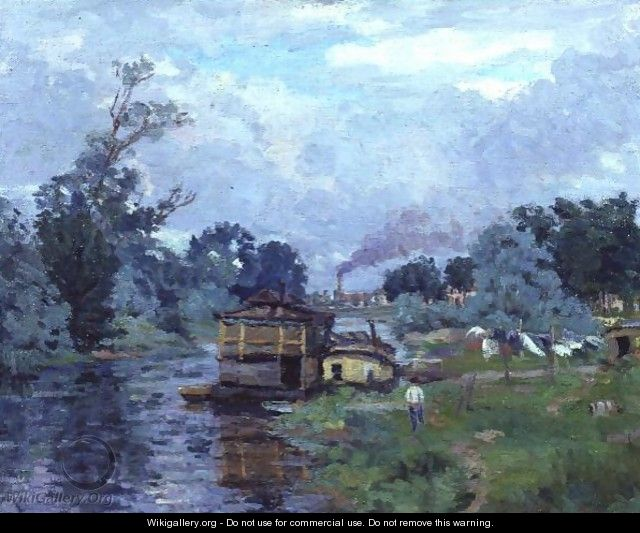 River Landscape - Armand Guillaumin