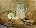 Still Life with a Cut Apple and a Pitcher 1876 - Berthe Morisot