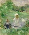Beside a Lake 1883 - Berthe Morisot