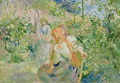 In the Garden at Roche-Plate 1894 - Berthe Morisot