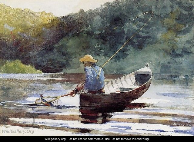 Boy Fishing - Winslow Homer
