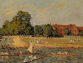 Regatta at Hampton Court - Alfred Sisley