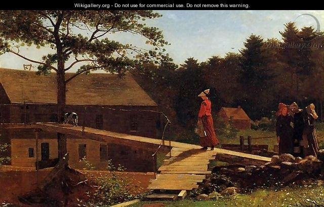 The Morning Bell - Winslow Homer