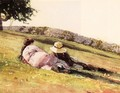 On the Hill - Winslow Homer
