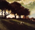 Twilight at Leeds, New York - Winslow Homer