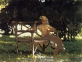 Woman on a Bench - Winslow Homer