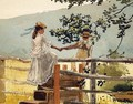 On the Stile - Winslow Homer
