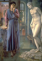 Pygmalion and the Image II: The Hand Refrains - Sir Edward Coley Burne-Jones