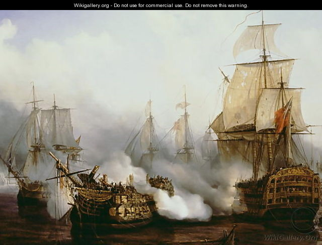 Battle of Trafalgar 1805 - Louis Philippe Crepin