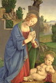 The Virgin Adoring the Child 1490-1500 - Lorenzo di Credi