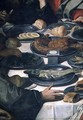 The Last Supper, detail of the food (detail) - Daniele Crespi